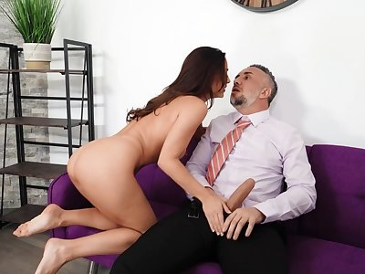 Amazing nude anal leaves hot chick soaked in sperm
