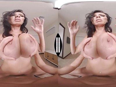 Sexually attractive Reagan Foxx VR aphrodisiac porn video