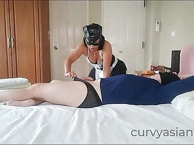 Asian maid couldn't resist cock, Decoration 1
