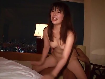 Unearthly breasty oriental mom was hard fucked