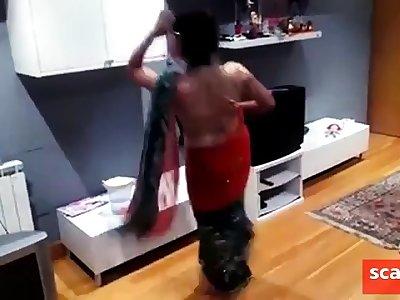 sexy nepali girl dancing