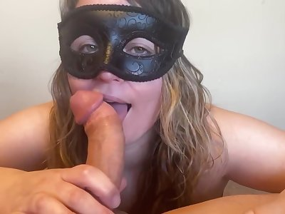 Papa gets beyond the shadow of a doubt suck and fuck from his putrid mistress