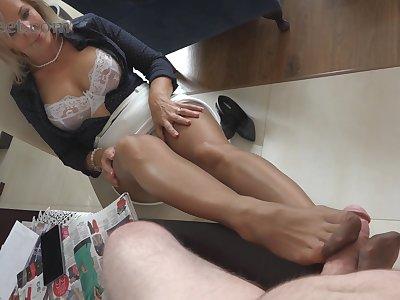 Horny porn integument MILF