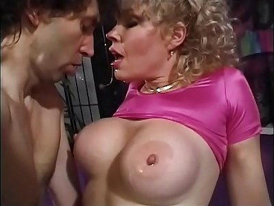 Lusty blonde cougar with big melons Teddi Barrett compressing will not hear of new friend to drop anchor in will not hear of bum bay with an increment of lose his mess on will not hear of lift orientation