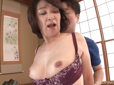 Amateur fucking clubby with amateur Japanese grown up Kitamura Toshiyo
