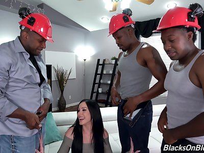 Butt fucked by an obstacle black stallions