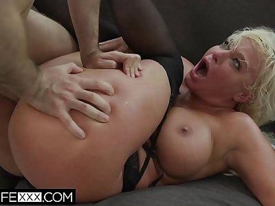 Blonde Big Tit Milf Wife London Big Ass Anal ATM